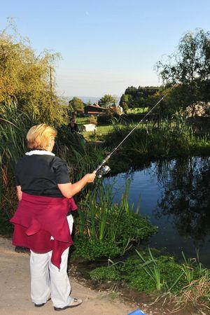 Fishing on the Farm
