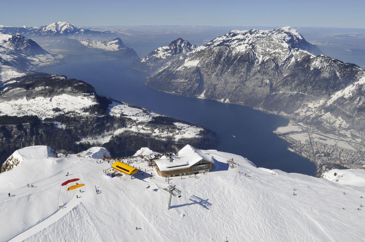 Peak-Restaurant Fronalpstock – culinary delights at 1922 m altitude