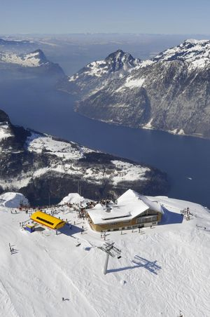 Peak-Restaurant Fronalpstock – culinary delights at 1922 m altitude