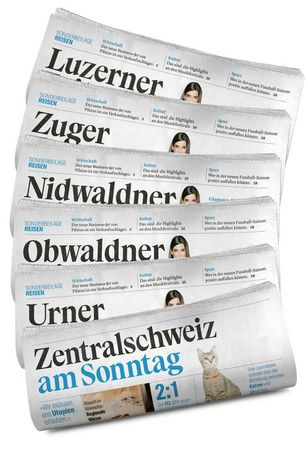 Luzerner Zeitung – how your newspaper is produced