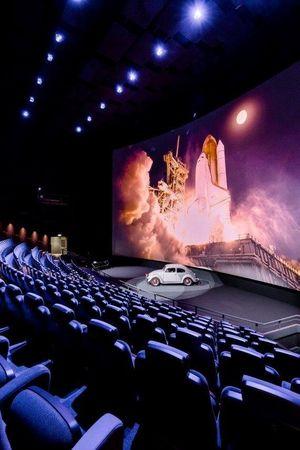 Neu umgebautes Filmtheater im Verkehrshaus der Schweiz als Eventlocation