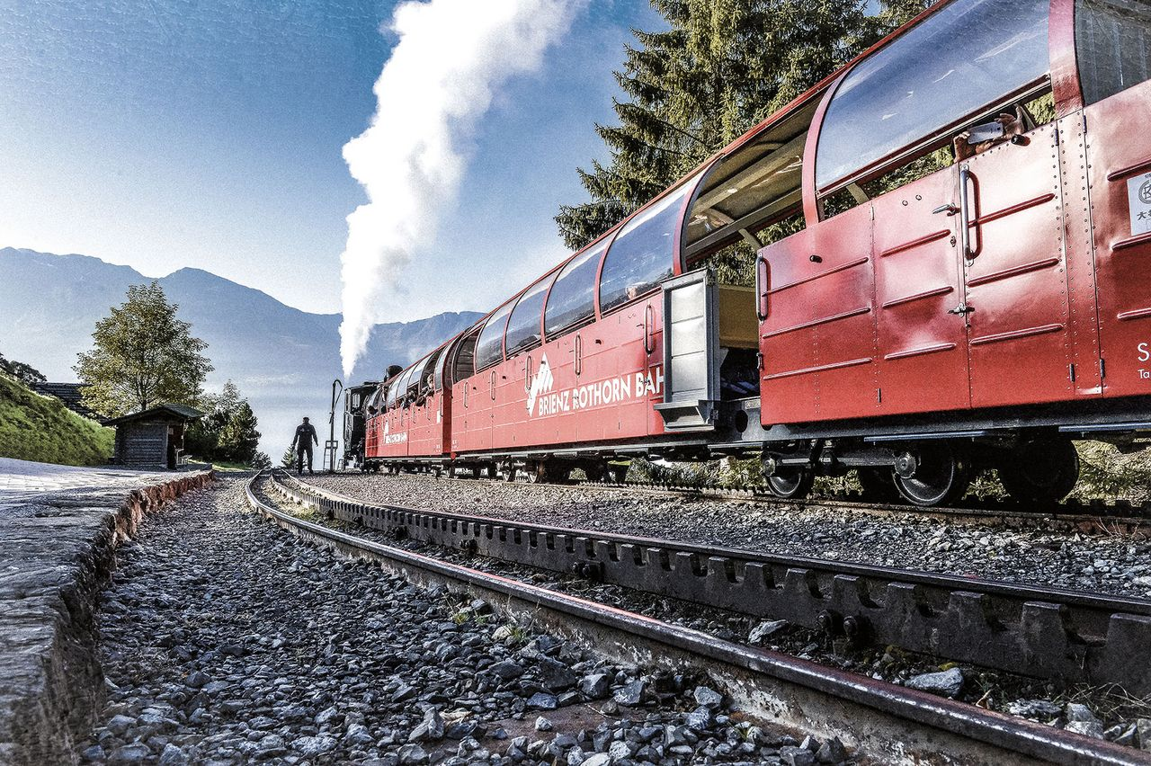 Brienz Rothorn Railway - Visit the depot