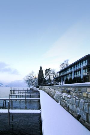 Christmas dinner with private boat ride Lucerne-Hertenstein