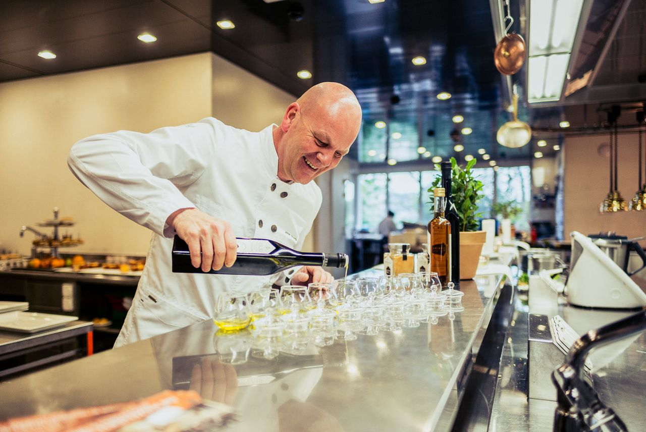 Olive Oil Tasting Hotel Montana