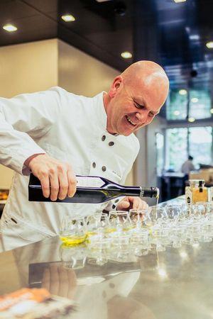 Olivenöl-Tasting Hotel Montana