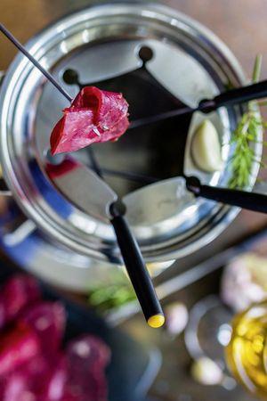 Hotel Waldstätterhof - Meat fondue chinoise à discretion