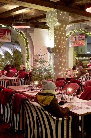 Fondue at Restaurant Pfistern