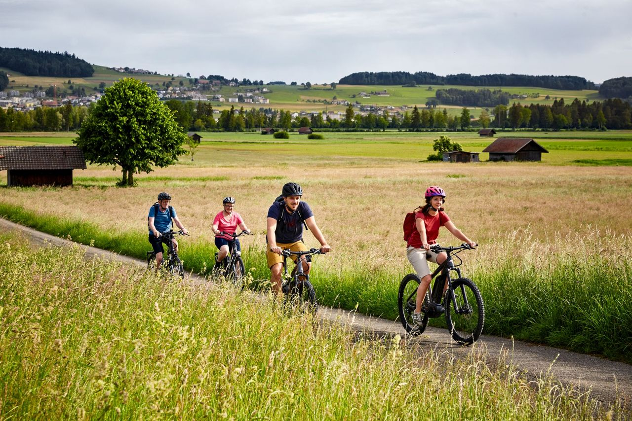 Course-to-course e-bike tour