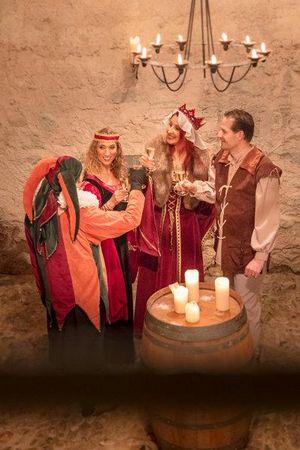 Erlebnis-Dinner mit König von Pfyffer