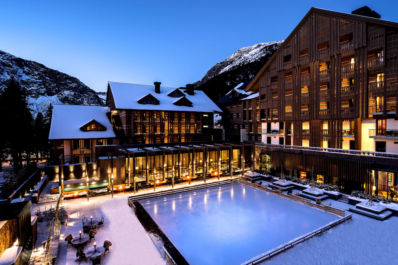 Awards for The Chedi Andermatt