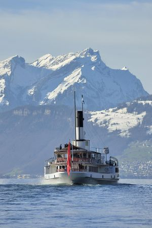 Winter Cruise Paddle Steamer