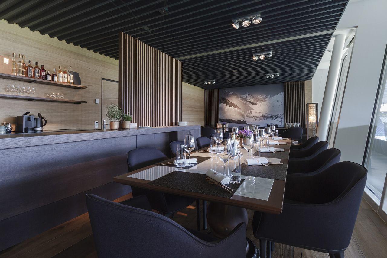 Swissporarena: new Chedi Lounge