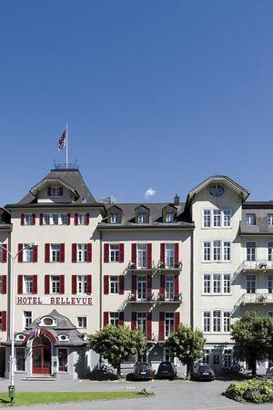 Hybrid meetings in the Hotel Bellevue-Terminus, Engelberg