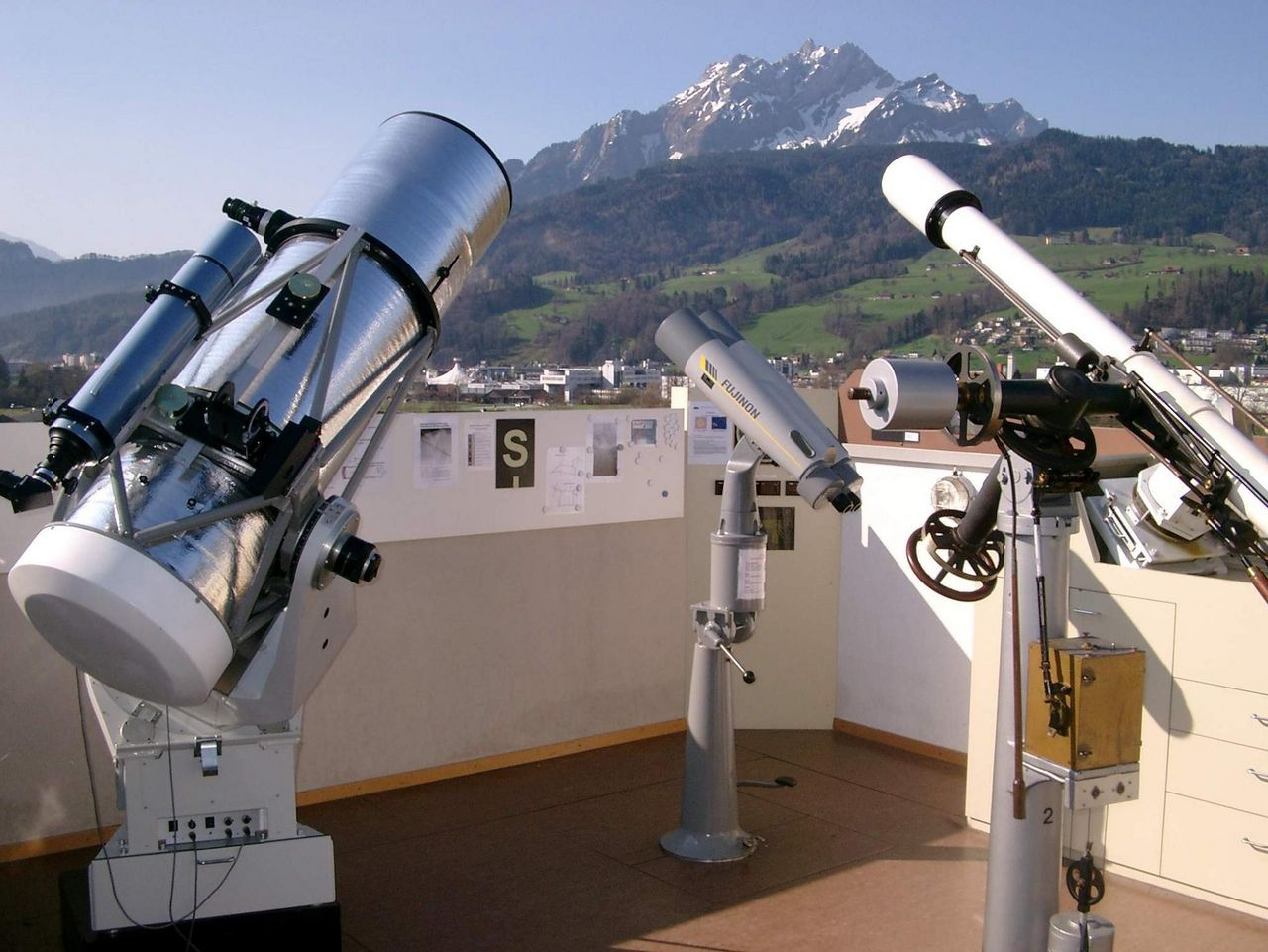 Hubelmatt Observatory – guided tours of the night sky