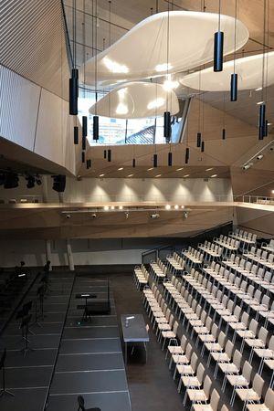 Eröffnung Konzerthalle Andermatt