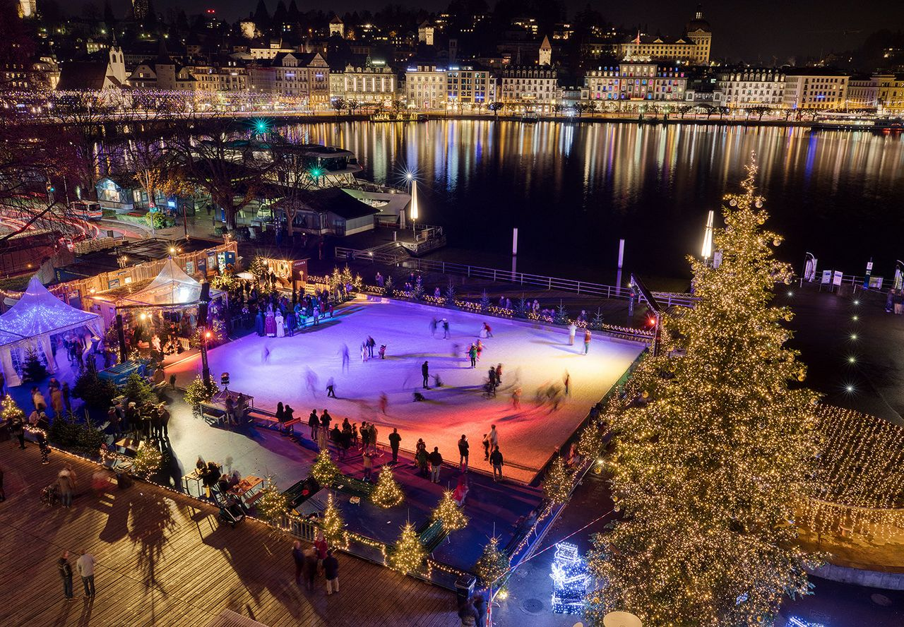 Winter Wonderland on the Lucerne Terrace – KKL Luzern