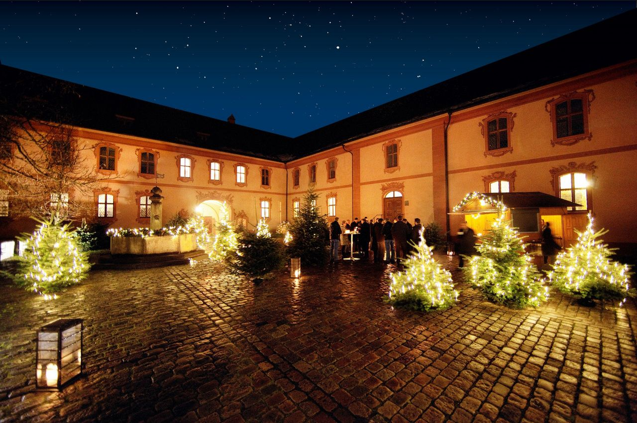 Christmas dinner at Seminarzentrum Hitzkirch