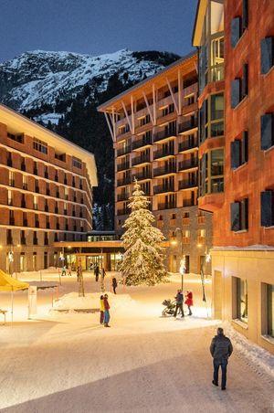 Schnee-Rabatt im Radisson Blu Hotel Reussen, Andermatt