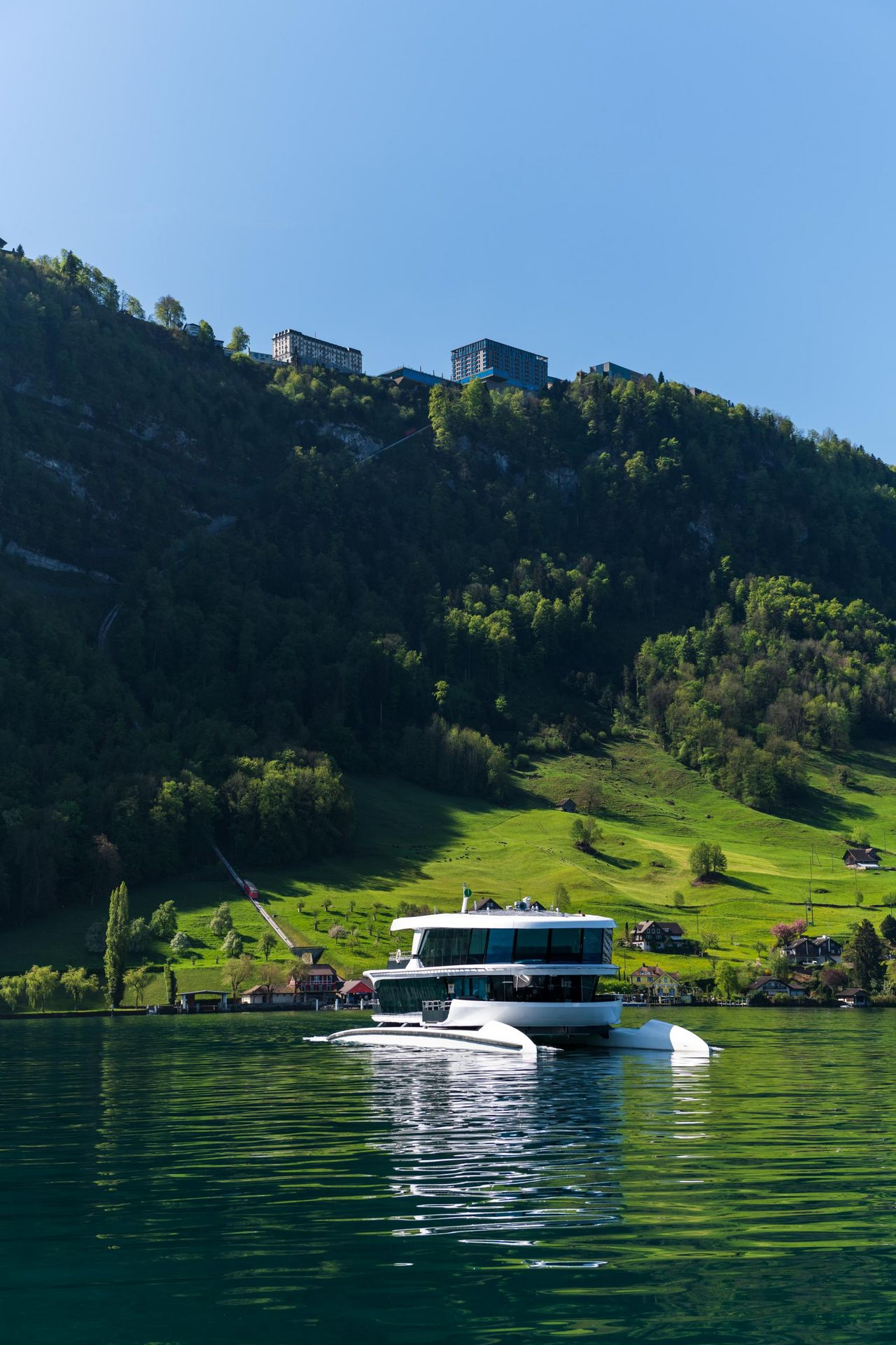 Latest addition to the fleet – MS Bürgenstock