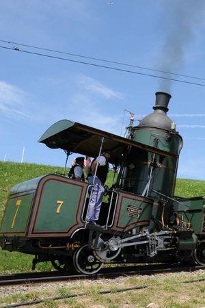 150 years of railway history on Mount Rigi