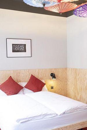 Stylish Japanese hotel rooms at Hotel Barabas