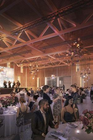 Neue Eventhalle für 1000 Personen im Campus Sursee