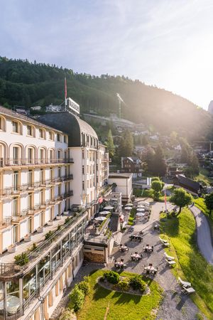 Renovated rooms at Hotel Terrace, Engelberg