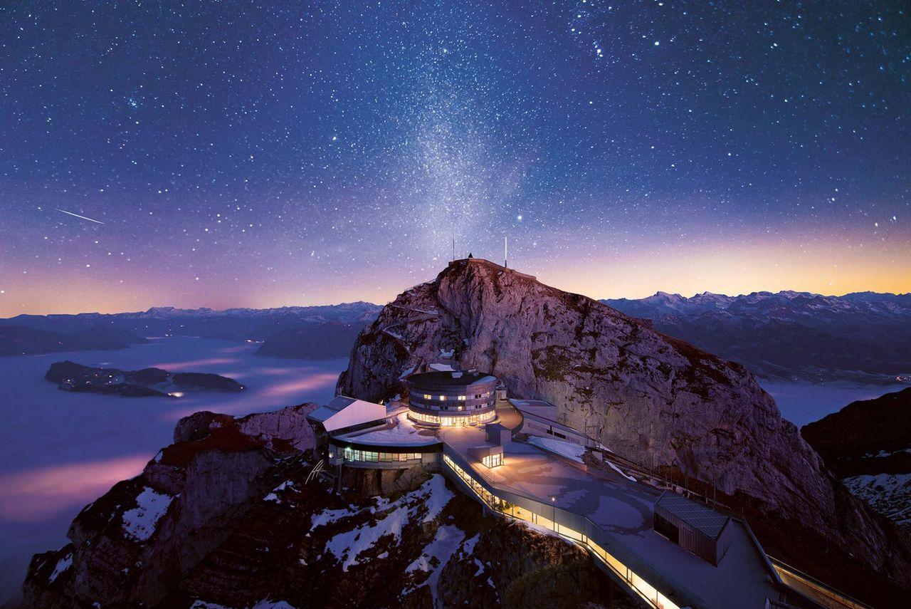 Summit dreams on Mt. Pilatus