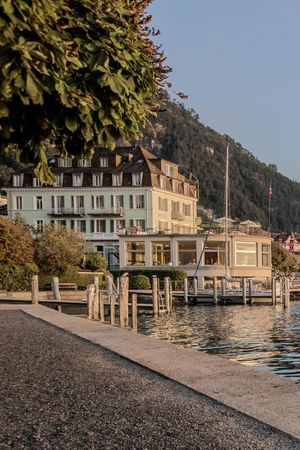 Swiss Historic Hotel Terrasse am See***