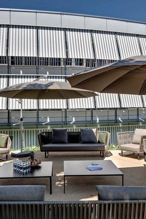 Outdoor seminar platforms Hotel Sempachersee Nottwil