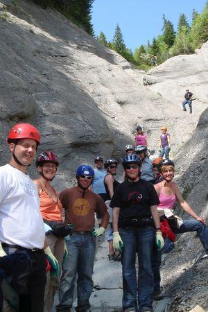 Mountain Stream Climbing
