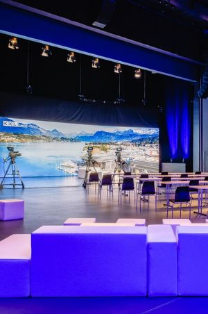 Streaming & hybrid events with auviso and KKL Luzern