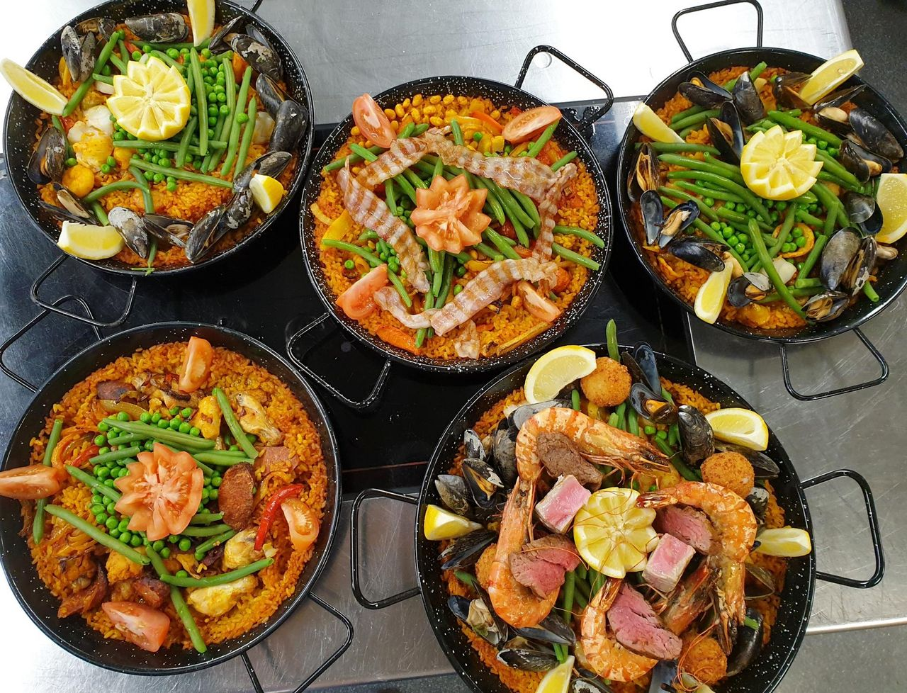 Cooking class: Tapas, Paellas y Crema Catalana