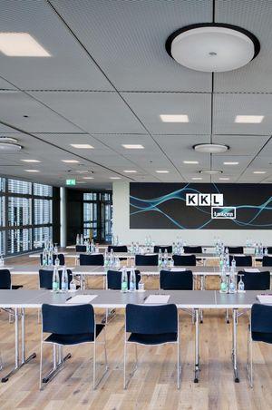 Deuxième – the multifunctional event room at KKL Luzern