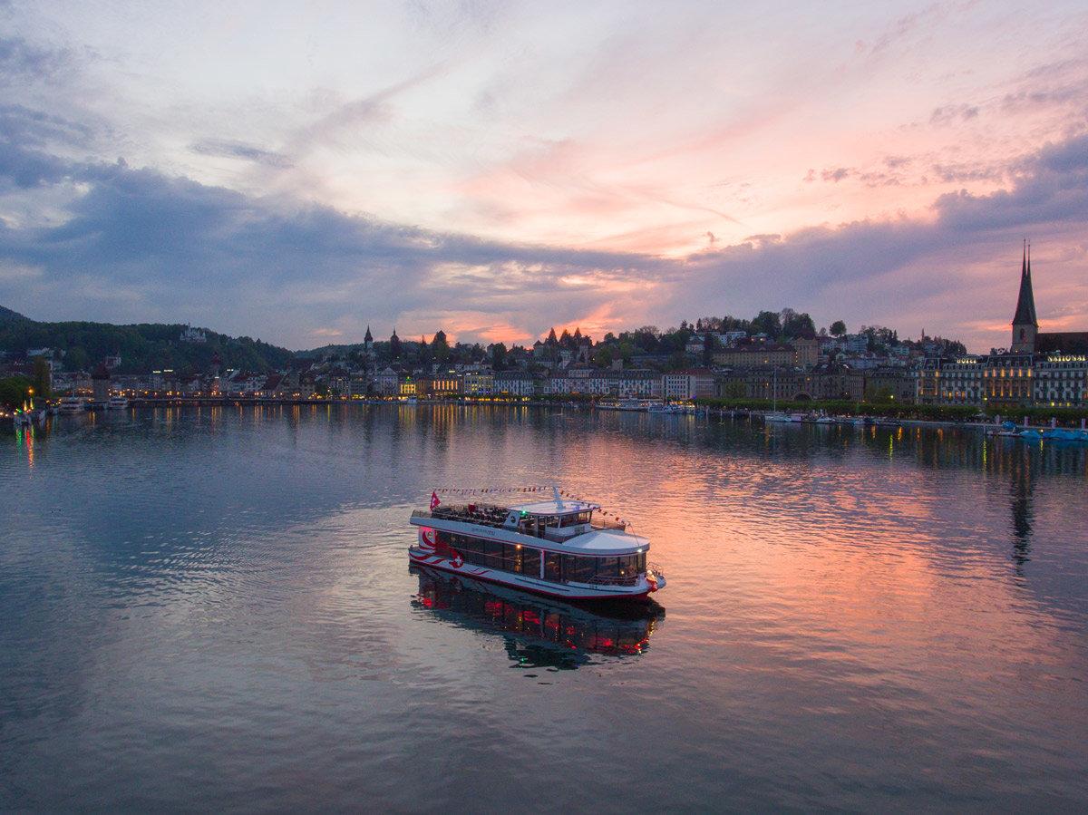 Cruise on Lake Lucerne