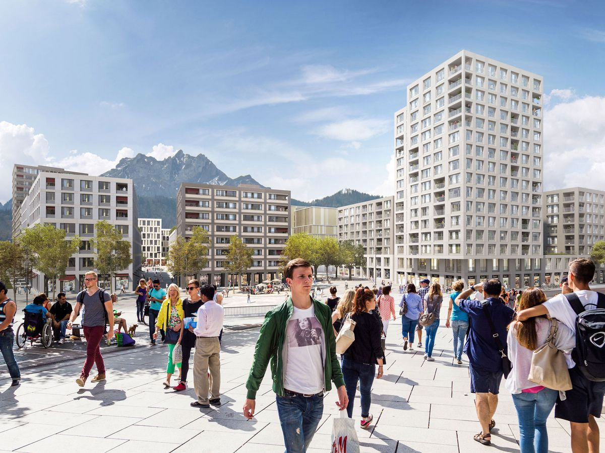 LuzernSüd – the new living and working district